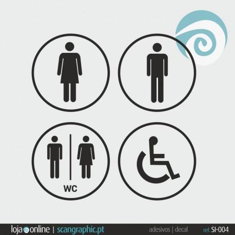 SINALETICA WC - ref: SI-004