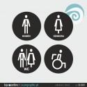 SINALETICA WC - ref: SI-009-A