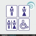 SINALETICA WC - ref: SI-008 IMP