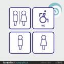 SINALETICA WC - ref: SI-012 IMP