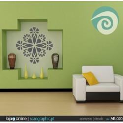 Ornamento Floral - ref: AB-020