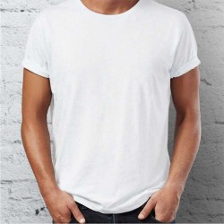T-shirt Premium HOMEM Branca 180Gr