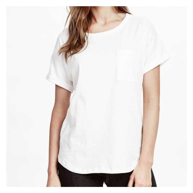 4124cb321 T-shirt Branca MULHER 150Gr