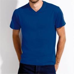 T-shirt Premium HOMEM - Cores - GOLA V - 150Gr