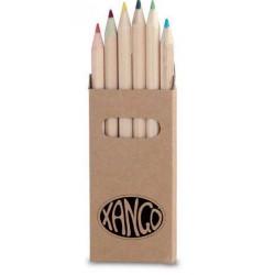 Caixa 6 Lápis