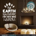 The EARTH HAS MUSIC FOR THOSE WHO LISTEN - ref: VF-023