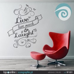 LIVE, LOVE MUCH & LAUGHT - ref: VF-001