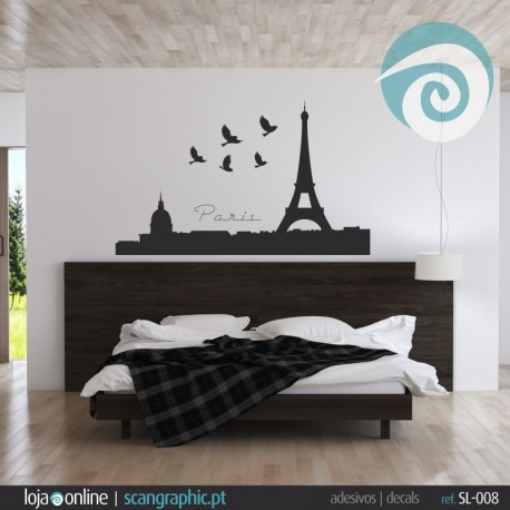 PARIS SKYLINE - ref: SL-008