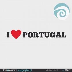 I LOVE PORTUGAL - ref: PT-032