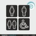 SINALETICA WC - ref: SI-001-A