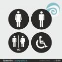 SINALETICA WC - ref: SI-004-A