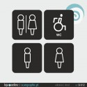 SINALETICA WC - ref: SI-012-A