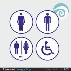 SINALETICA WC - ref: SI-004 IMP