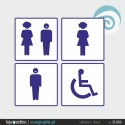 SINALETICA WC - ref: SI-006 IMP