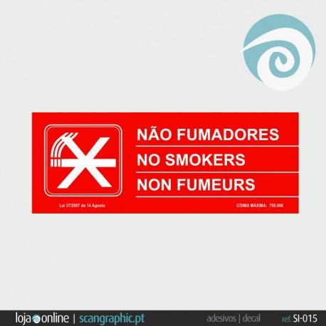 NÃO FUMADORES - ref: SI-015