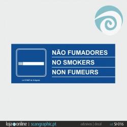 FUMADORES (2 dísticos) - ref: SI-016
