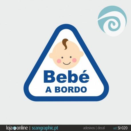 BEBE A BORDO - ref: SI-020