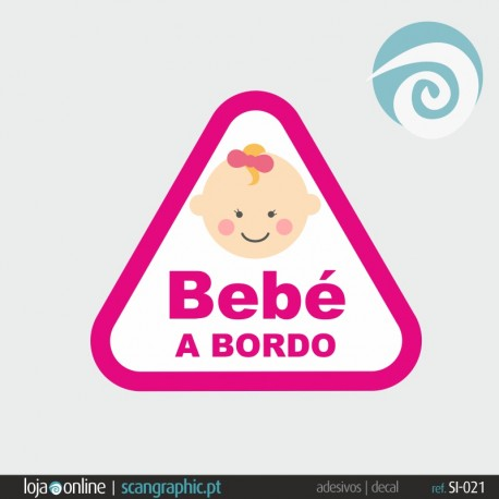 BEBE A BORDO - ref: SI-021