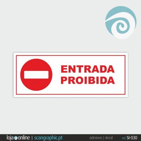PROIBIDO - ref: SI-030