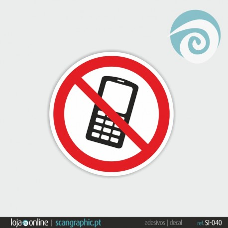 PROIBIDO A TELEMOVEL - ref: SI-040
