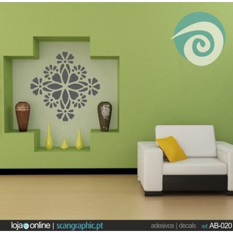 Ornamento Floral - ref: AB-008