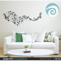 Notas Musicais- ref: AB-003