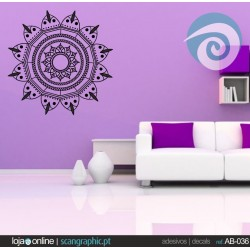 Ornamento Flor Abstrata - ref: AB-036