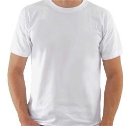 T-shirt HOMEM Branca 135Gr