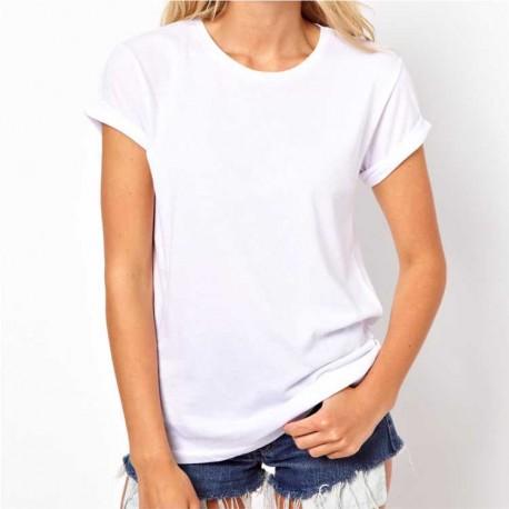 T-shirt Premium Branca MULHER 150Gr