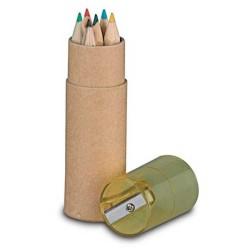 Caixa 6 Lápis com afia