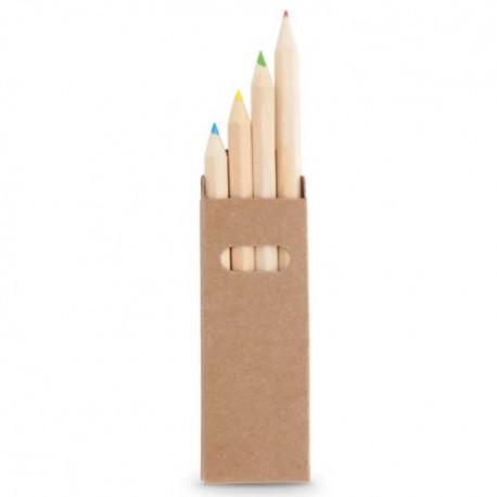 Caixa 4 Lápis