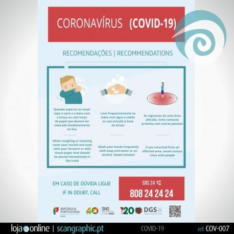 INFORMAÇÃO: Lavagem das Mãos | COV-006