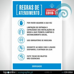 Regras de Atendimento | COV-008