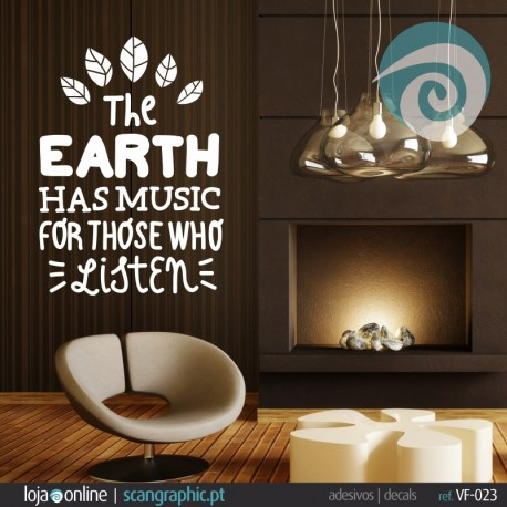 The EARTH HA MUSIC FOR THOSE WHO LISTEN - ref: VF-023