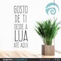 GOSTO DE TI DESDE A LUA ATÉ AQUI - ref: VF-026