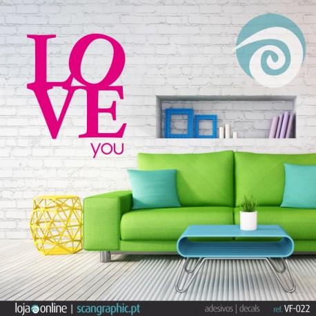 LOVE YOU - ref: VF-022
