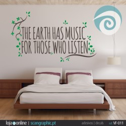 THE EARTH HAS MUSIC FOR THOSE WHO LISTEN - ref: VF-011