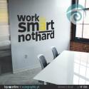 WORK SMART NOT HARD - ref: VF-006